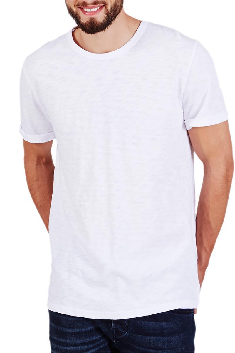 422687ca045c Shirt Shirt Shirt Minimum Slub Men s Delta Delta Delta White T A0Ht0wq