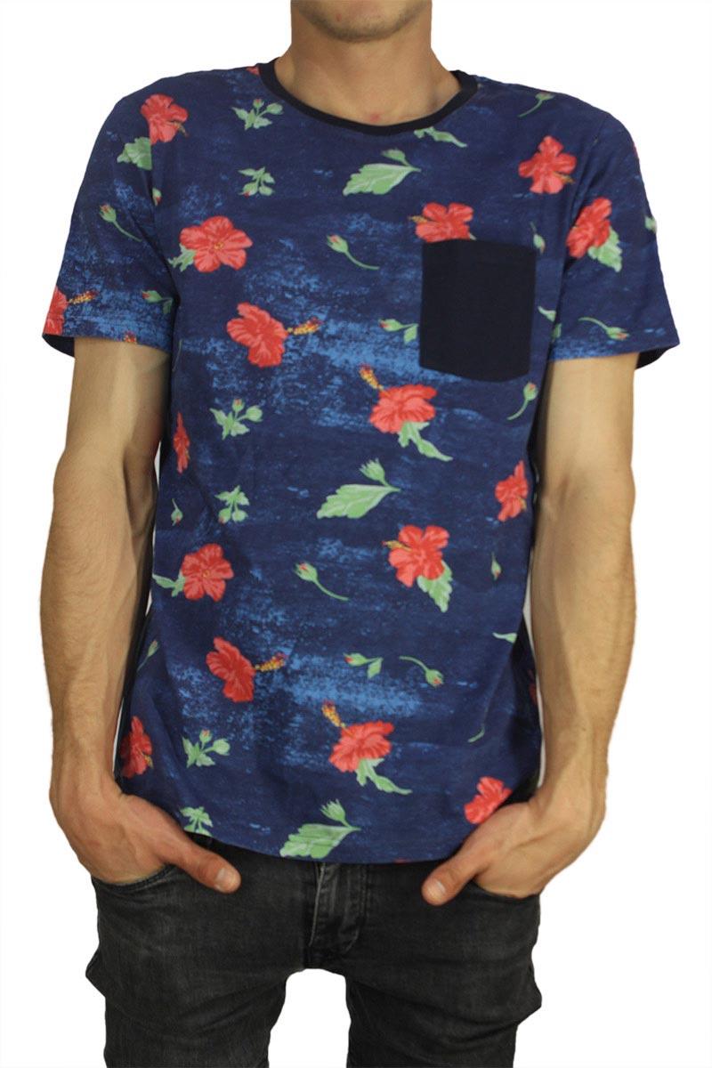 Wesc ανδρικό t-shirt Maxton navy