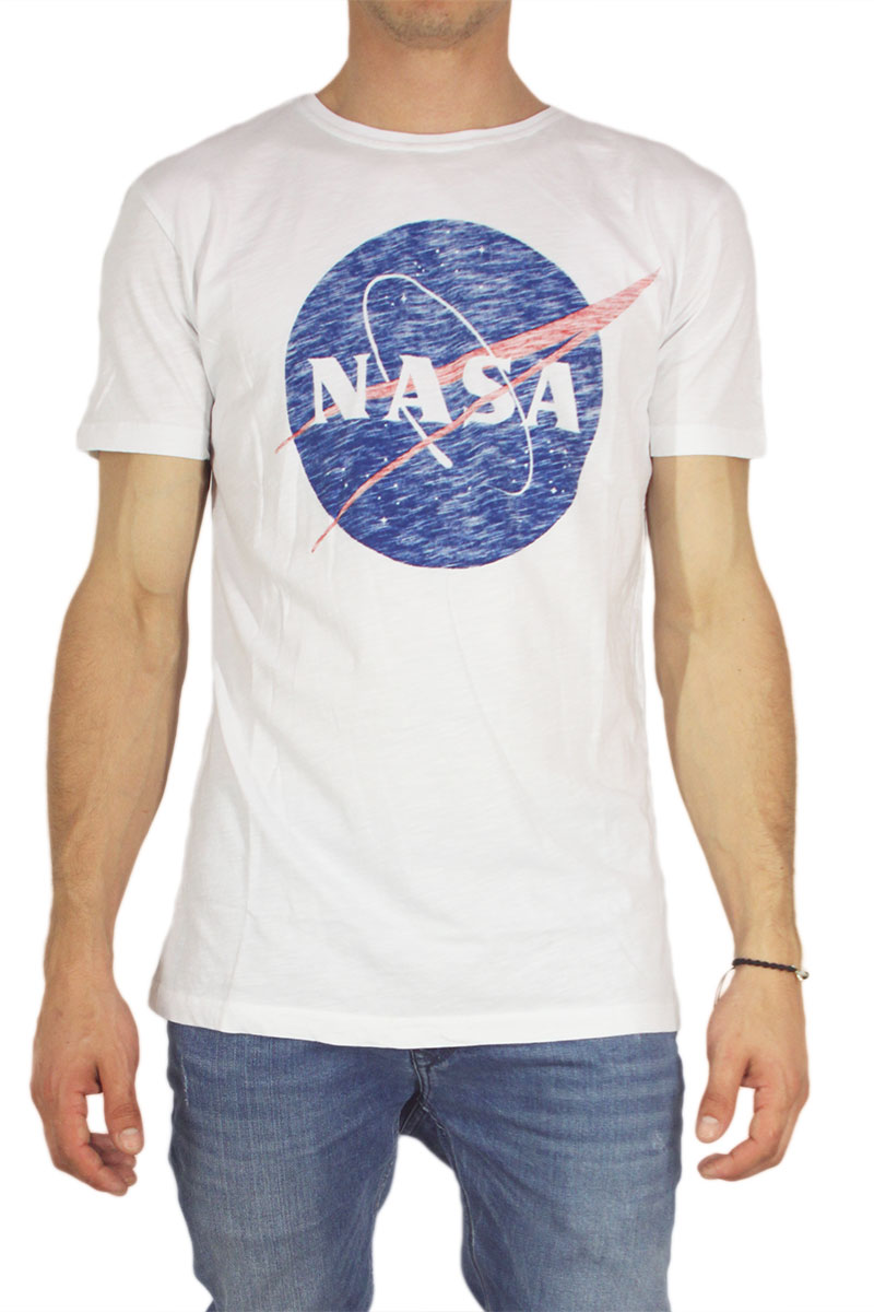 Worn By ανδρικό t-shirt Nasa logo λευκό image