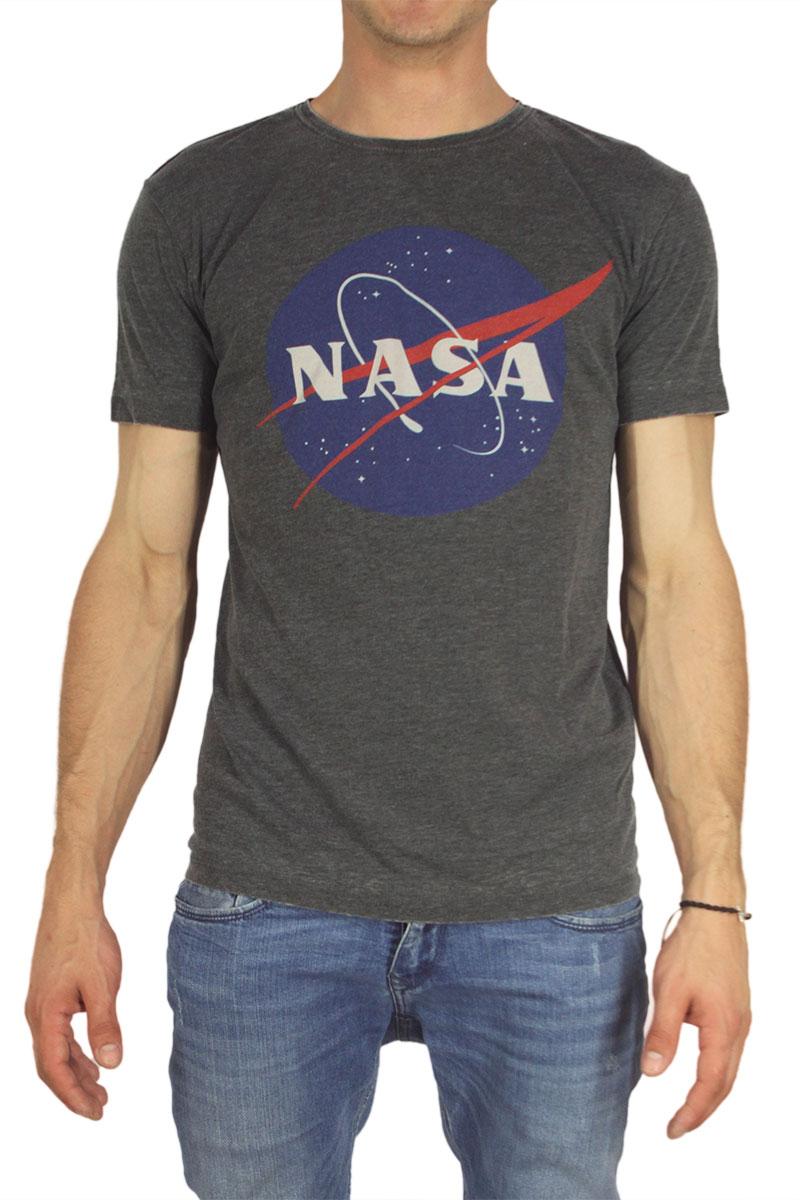 Worn By ανδρικό t-shirt Nasa logo μαύρο image