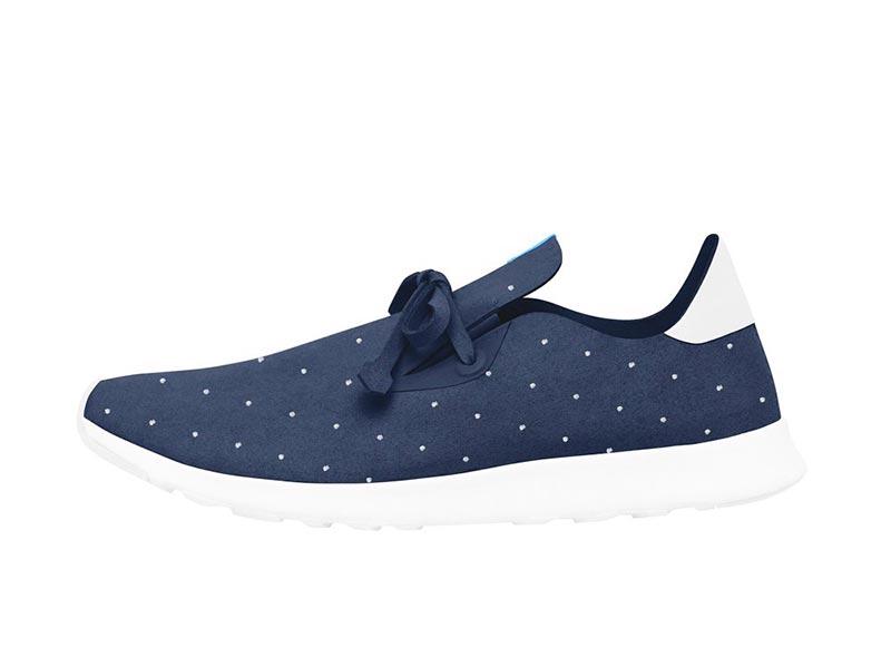 Ανδρικά παπούτσια Native Apollo regatta blue/polka dot