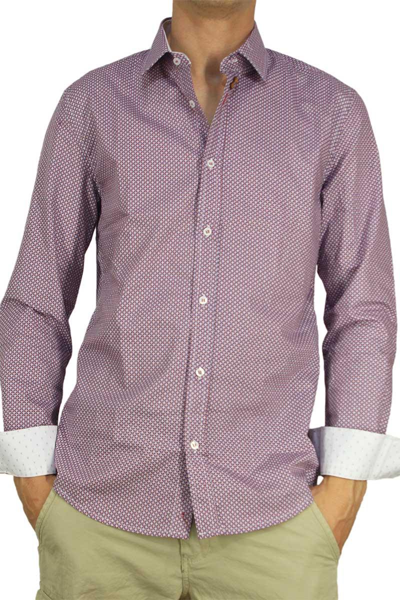 Missone ανδρικό πουκάμισο με πριντ