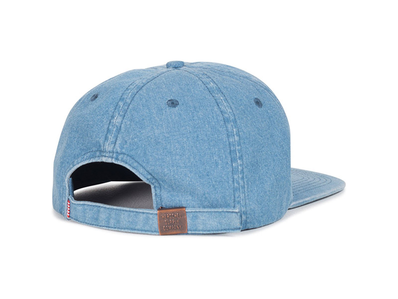 promo code 72442 468d7 Herschel Supply Co. Albert Cap faded denim