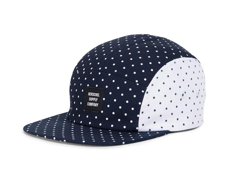 Herschel Supply Co. Glendale Cap navy/white white/navy polka dot image