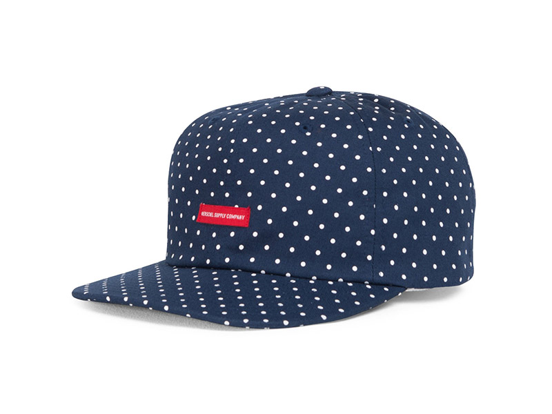 Herschel Supply Co. Troy Cap navy/white polka dot image