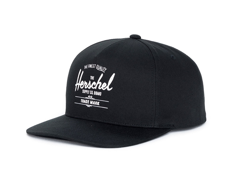 Herschel Supply Co. Whaler Cap black image