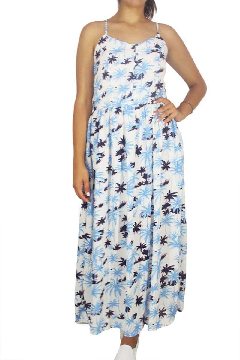Mismash Bojan maxi φόρεμα με χιαστί πλάτη - s1661235