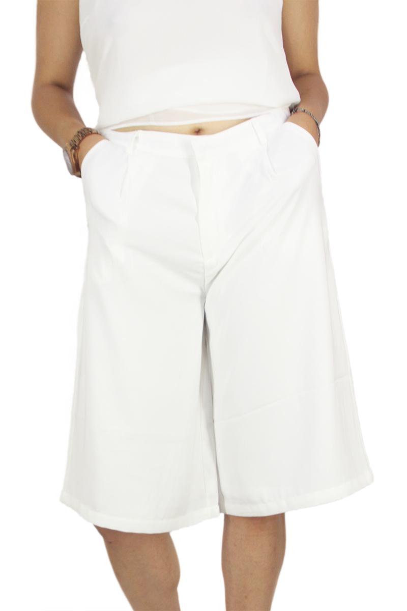 Soft Rebels ζιπ κιλότ Cali off white γυναικεια     παντελόνια