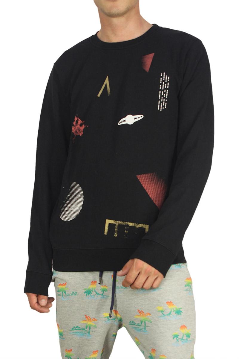 Wesc ανδρική φούτερ μπλούζα Camden μαύρη