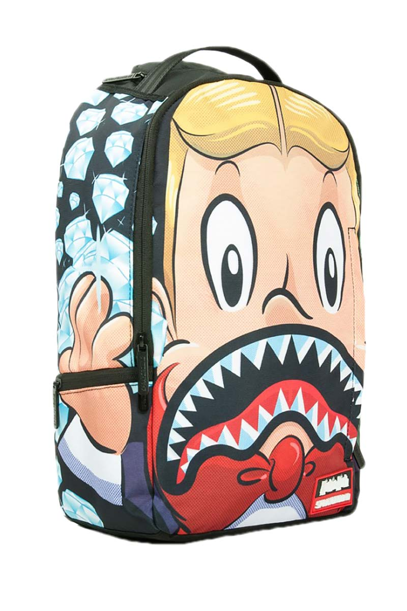 Sprayground Richie rich shark mouth backpack