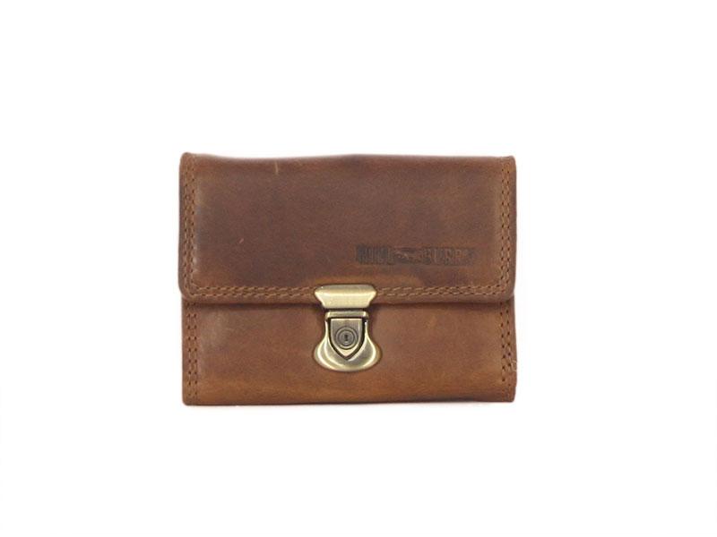 Hill Burry γυναικείο δερμάτινο πορτοφόλι με κλιπ image