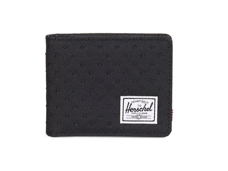 Herschel Supply Co. Hank wallet black/black embroidery polka dot image