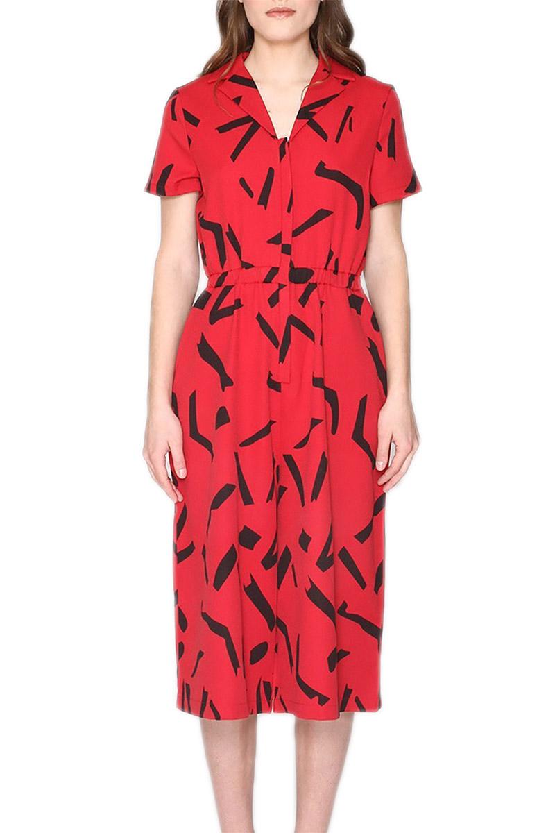 Pepaloves Olivia ολόσωμη ζιπ κιλότ κόκκινη γυναικεια     ολόσωμες φόρμες
