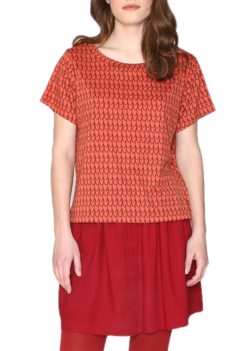 Pepaloves Rust κοντομάνικη μπλούζα