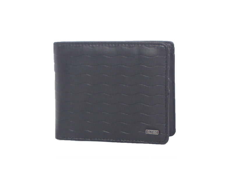 Globe wallet Weston black waves - gb-71519002
