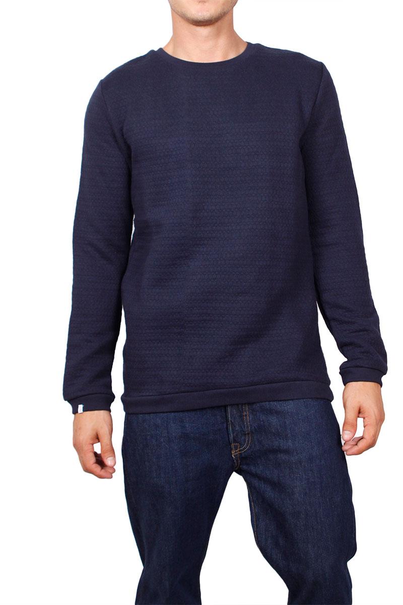 Anerkjendt φούτερ μπλούζα Omed σκούρο μπλε