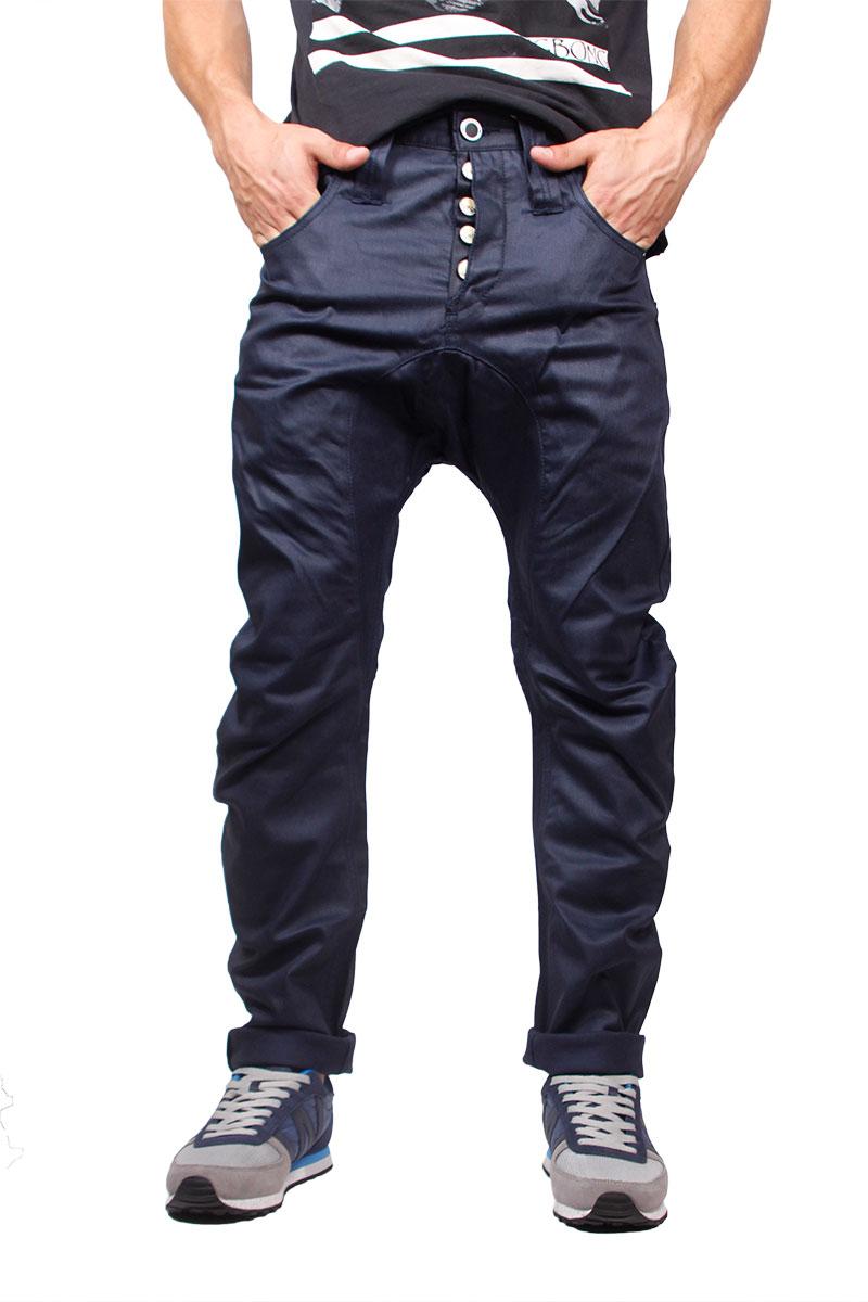 Humor Santiago παντελόνι σκούρο μπλε - 8711519