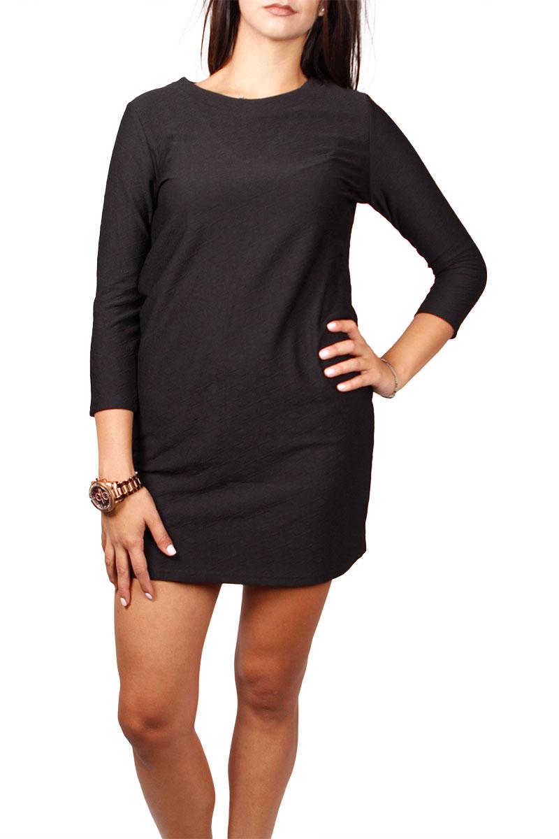 Migle + me μίνι φόρεμα μαύρο με V-πλάτη