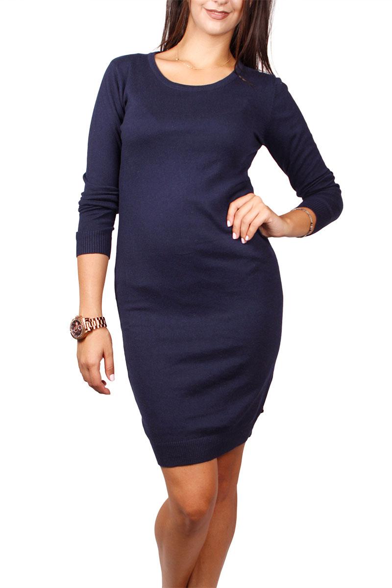 Ryujee Plume πλεκτό φόρεμα βαθύ μπλε γυναικεια     φορέματα