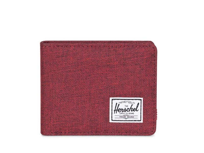 Herschel Supply Co. Roy coin wallet coin winetasting crosshatch image