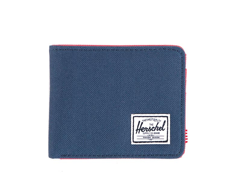 Herschel Supply Co. Roy coin wallet coin navy/red