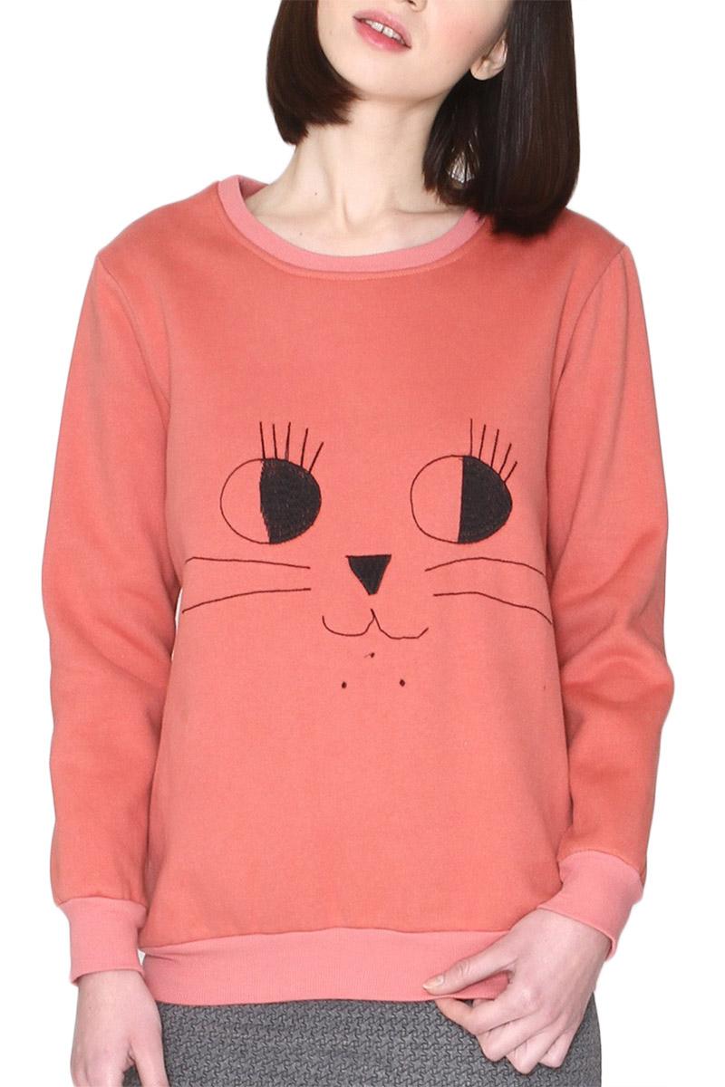 Pepaloves Lorena φούτερ μπλούζα ροζ