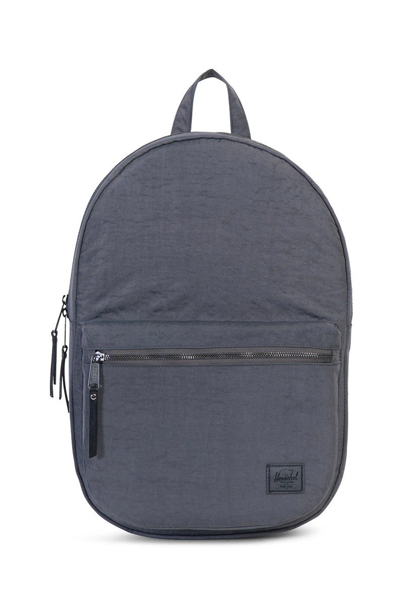 Herschel Supply Co. Lawson Select backpack dark shadow wrinkled nylon