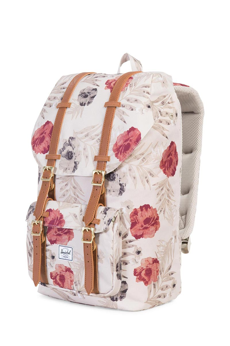 bd17a678d48 Herschel Supply Co. Little America backpack pelican floria