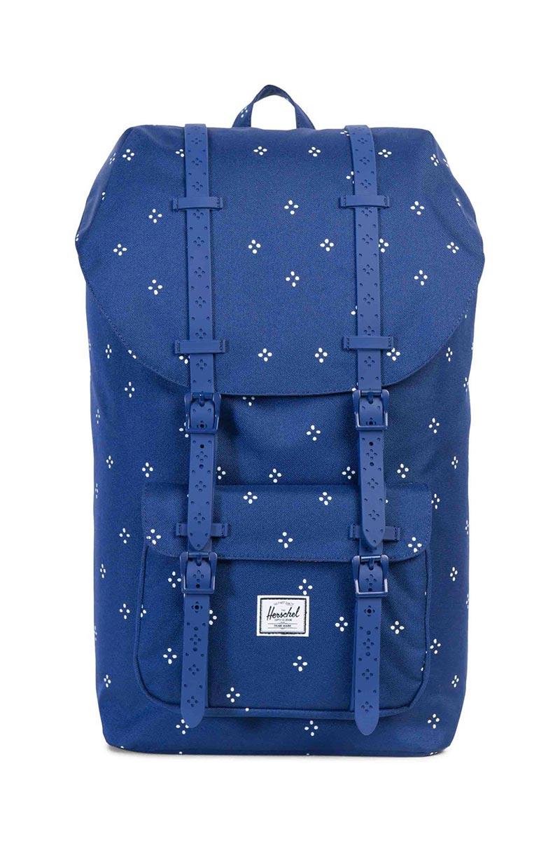 0061af02e7b Herschel Supply Co. Little America backpack focus twilight blue rubber
