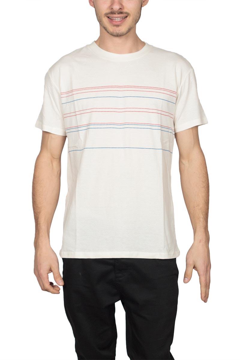Anerkjendt Matt t-shirt εκρού