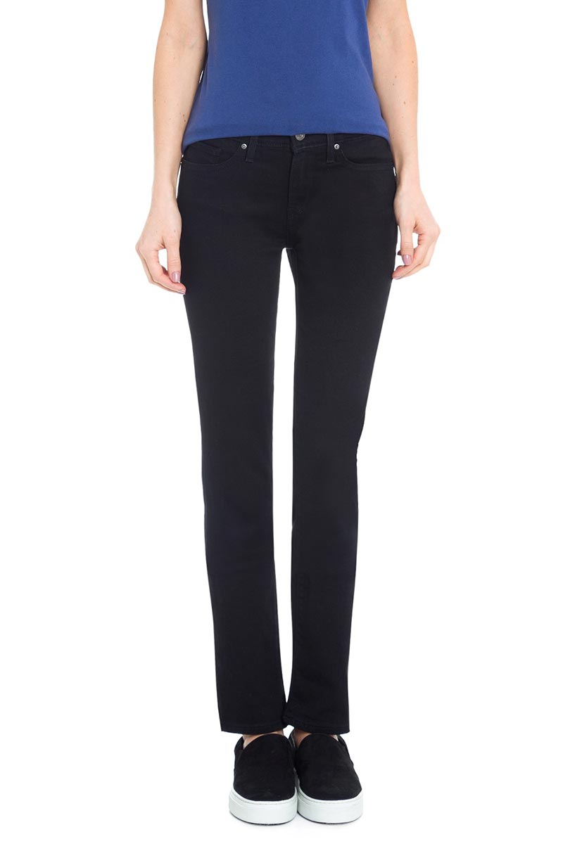 Γυναικείο LEVI'S 712™ slim Jeans soft black - 18884-0026