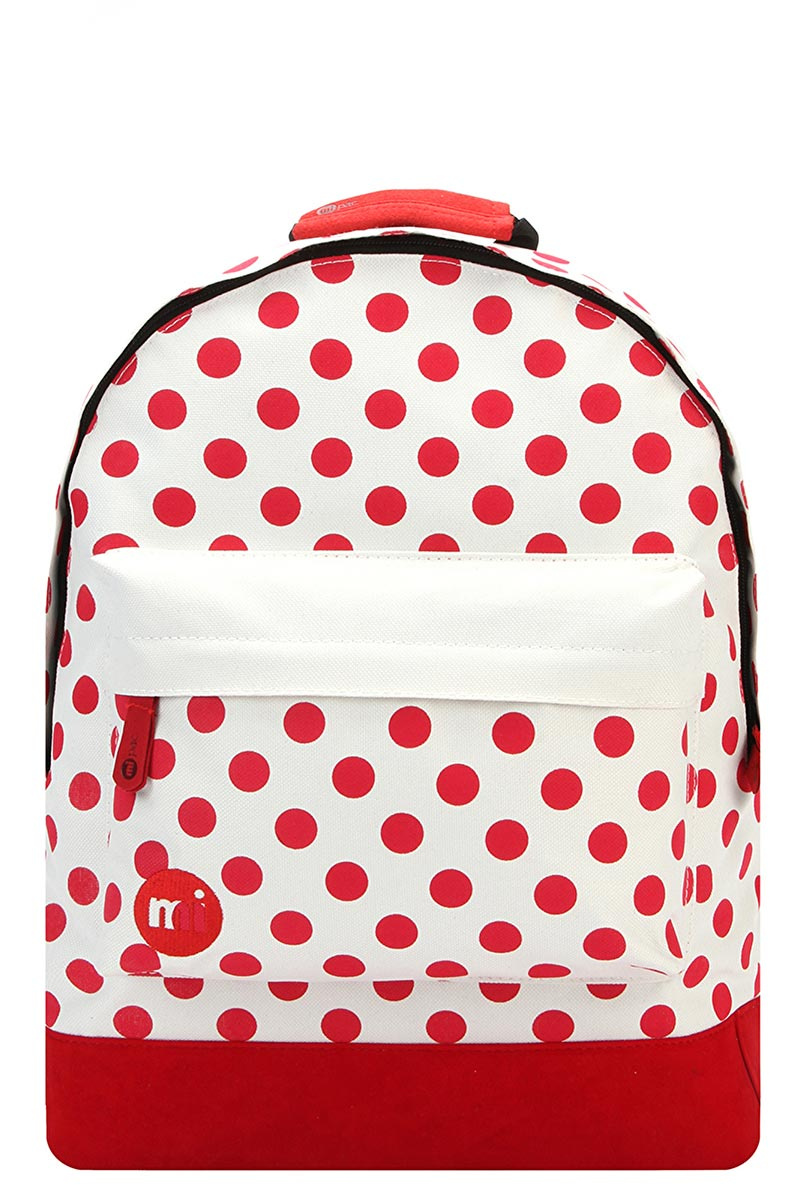 Mi-Pac All Polka backpack natural/red
