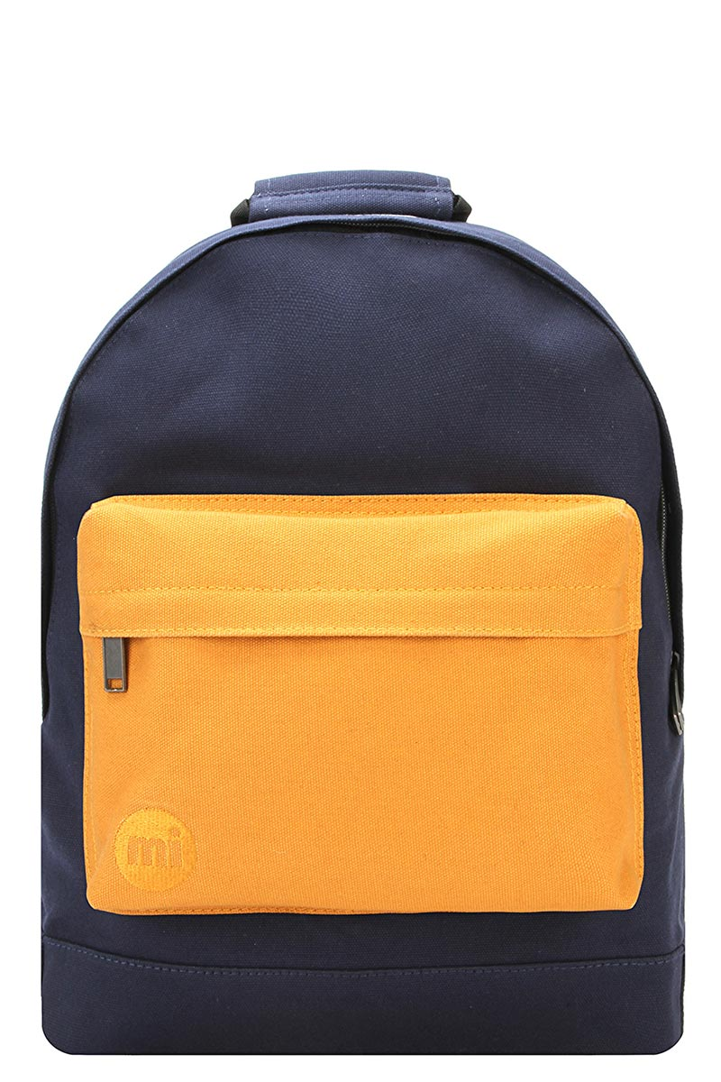 8bf24a64c4 Paperinos Mi-Pac Premium canvas backpack tonal navy  yellow - 740314-066
