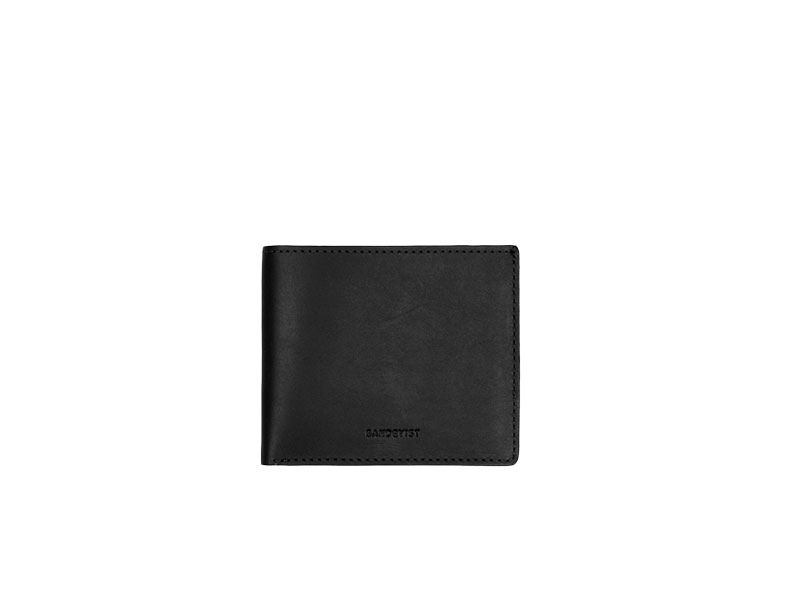 Sandqvist Bill small leather wallet black image