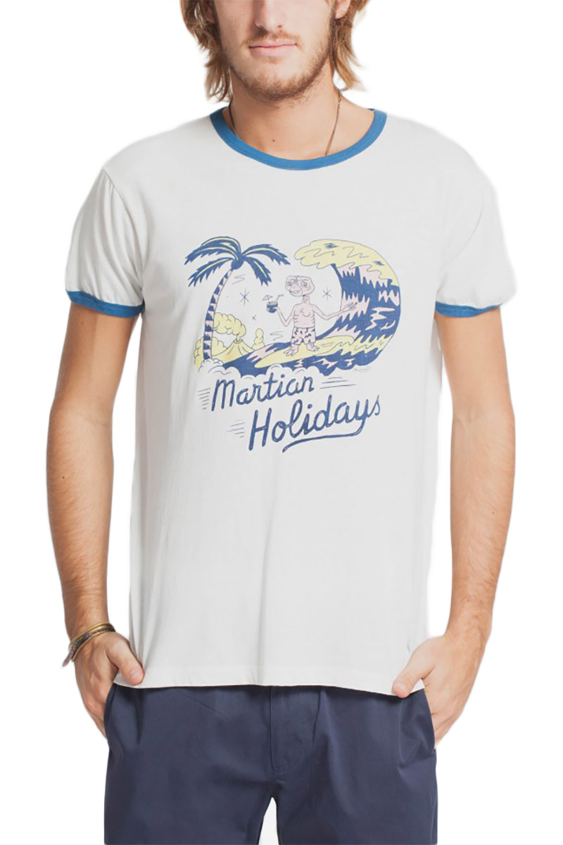 Thinking Mu Martian holidays t-shirt ημίλευκο