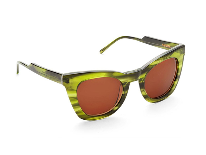 Kaibosh sunglasses 6' Above jungle jewel shiny