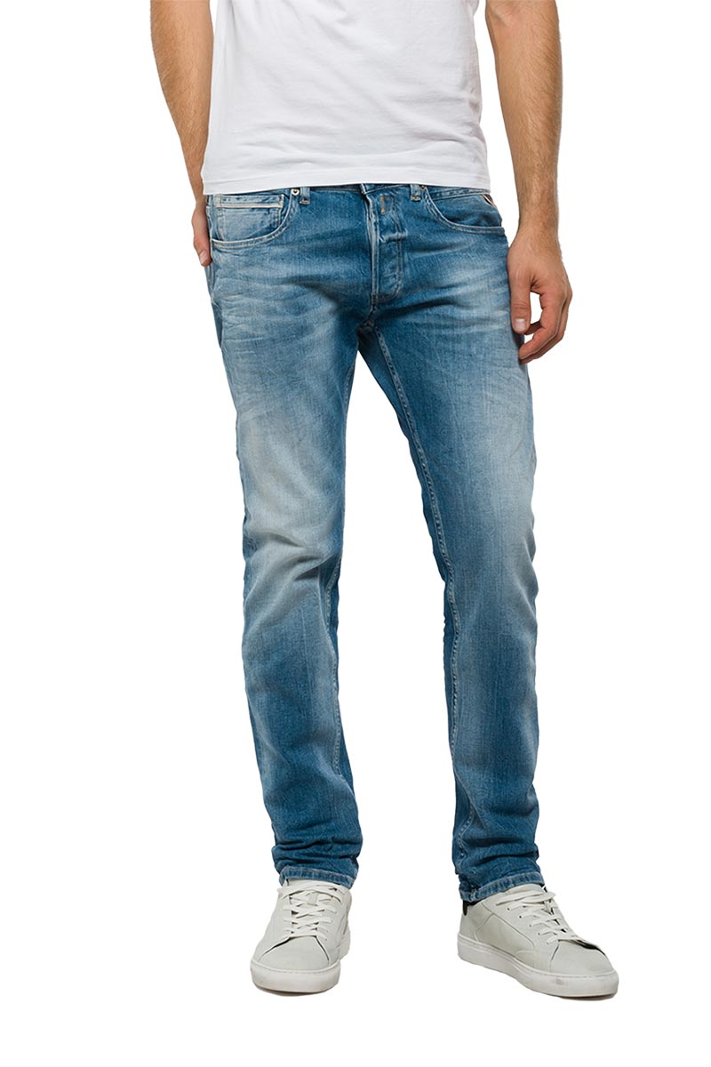 Replay ανδρικό Grover straight fit jeans - ma972-000-23c940-009