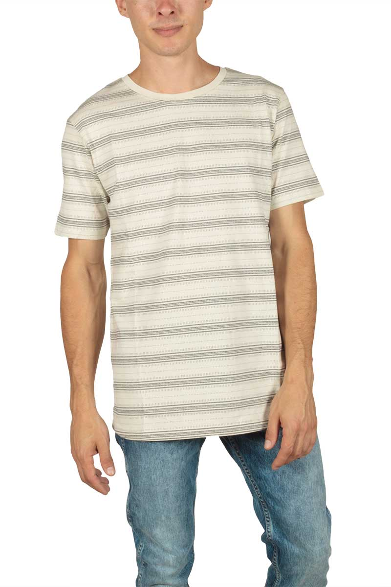 Anerkjendt Martez ριγέ t-shirt εκρού