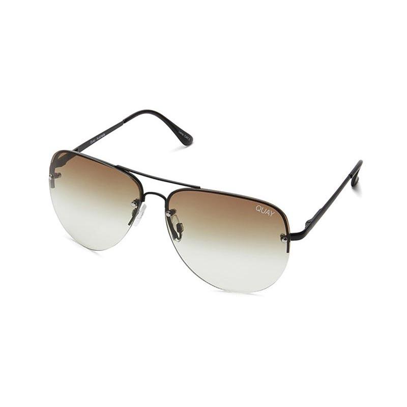 Quay Australia γυαλιά ηλίου Muse Fade - black/brown fade lens image