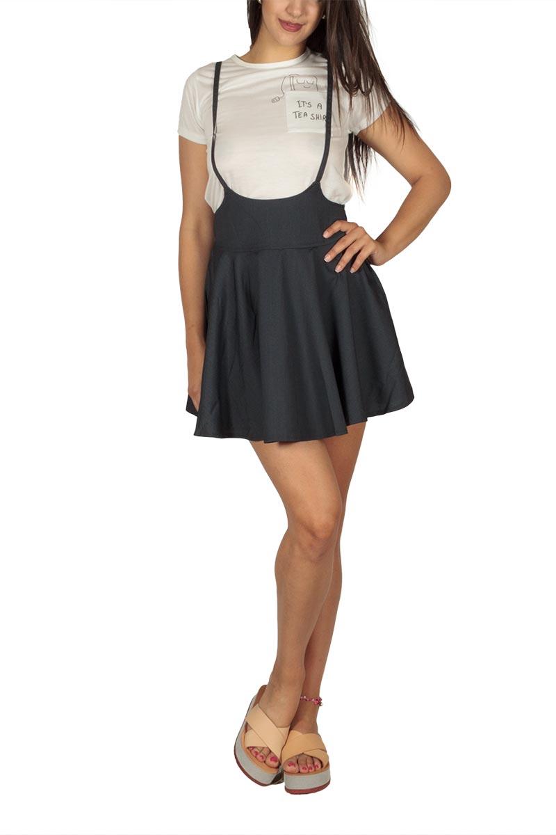 Ryujee Kimy μίνι μαύρη φούστα