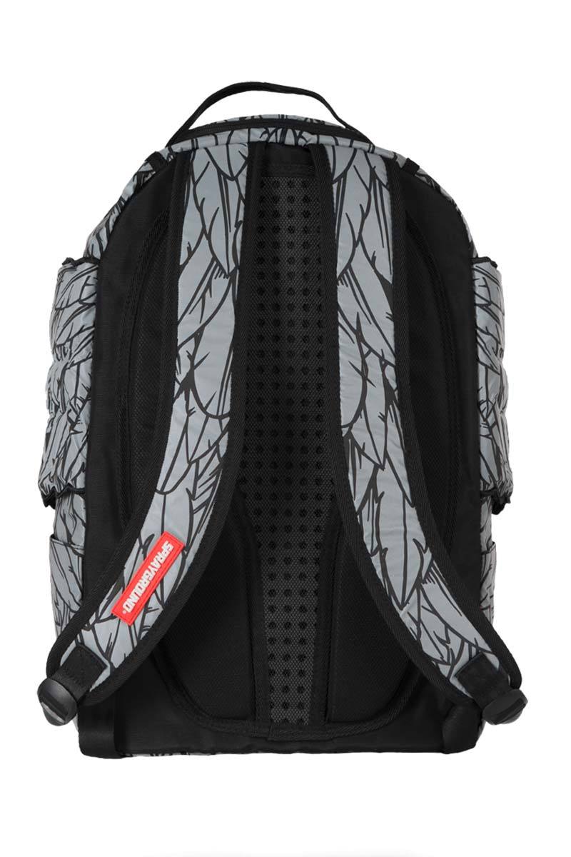 Sprayground Reflective Backpack 3m Wings Grey