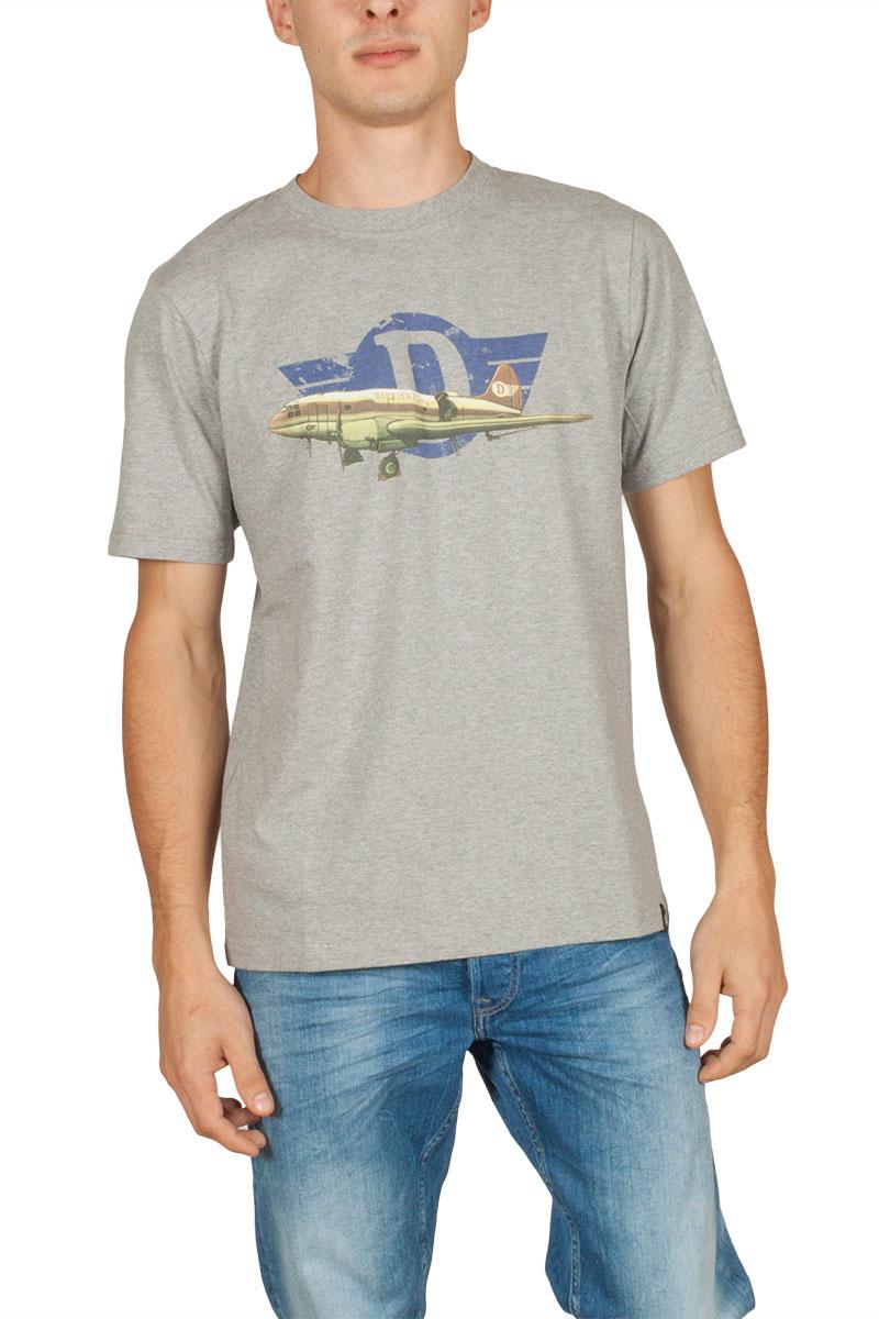 Dickies Amagon T-shirt γκρι μελανζέ - 06-210513