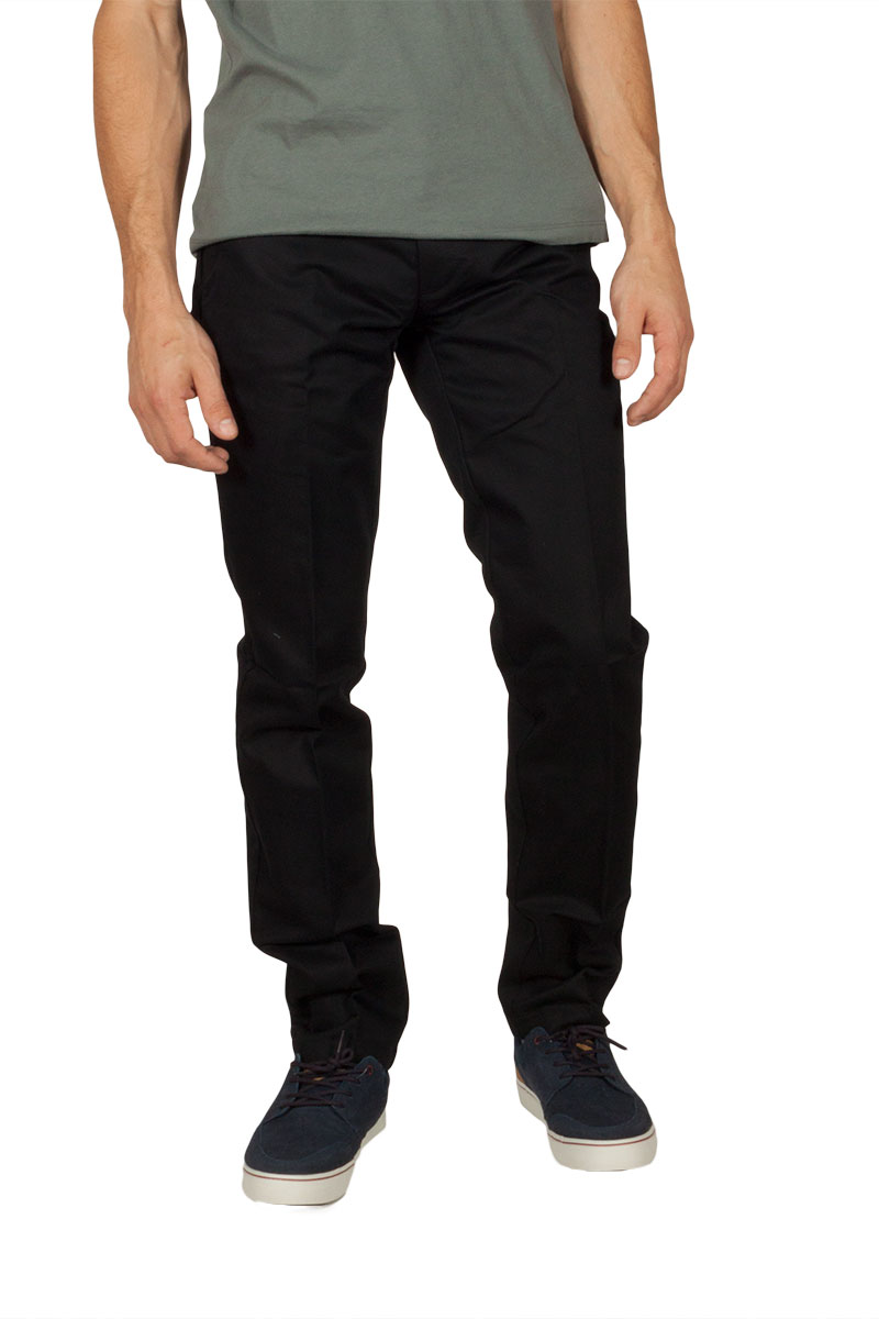 Dickies ανδρικό chino παντελόνι μαύρο - wp900-blk