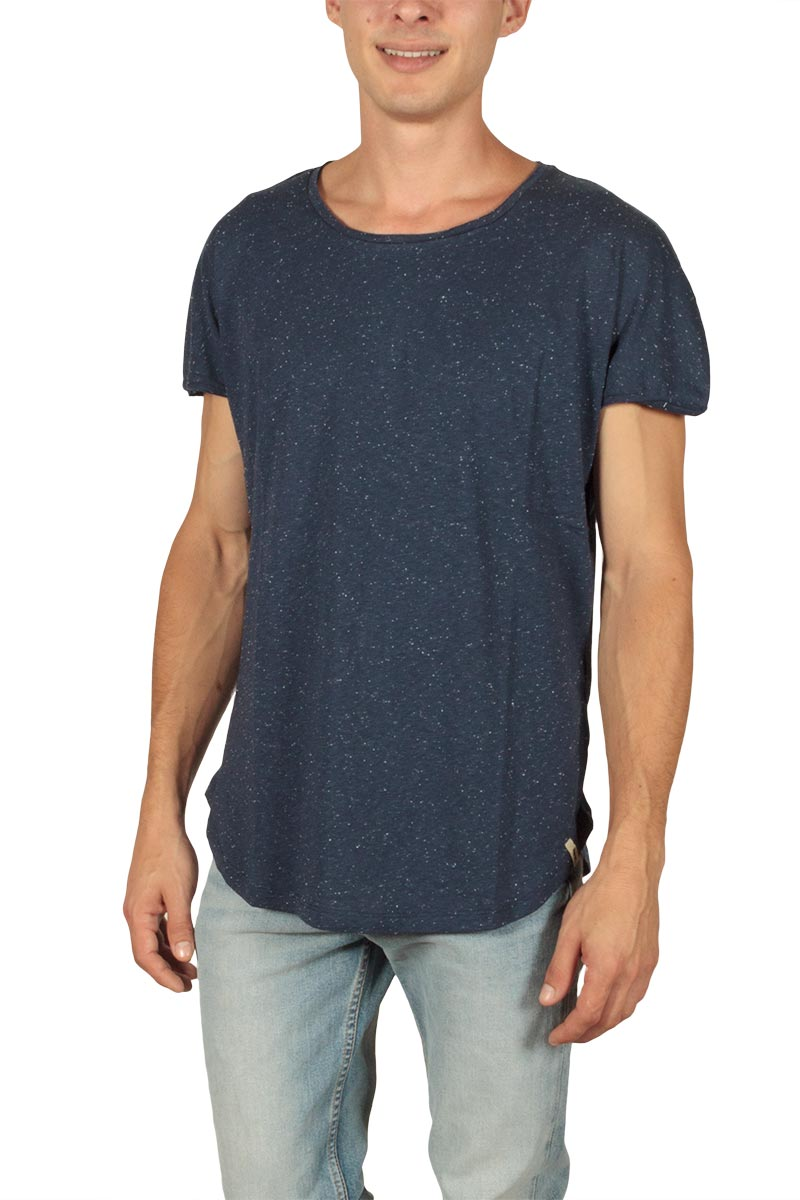 French Kick ανδρικό t-shirt Raw navy - fkm1-2110-bl