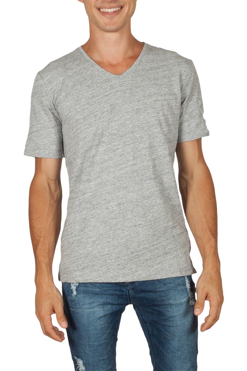 Minimum Earlham ανδρικό t-shirt γκρι μελανζέ
