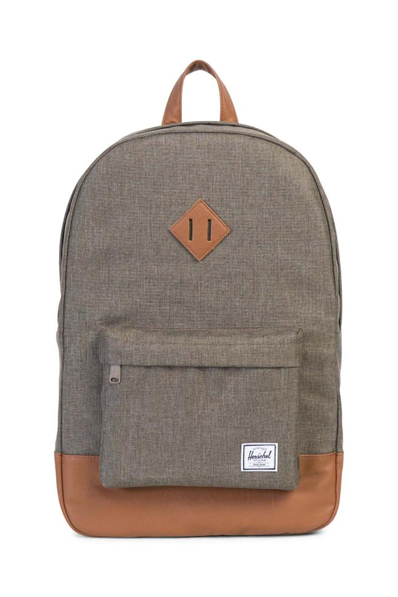 Herschel Supply Co. Heritage backpack canteen crosshatch