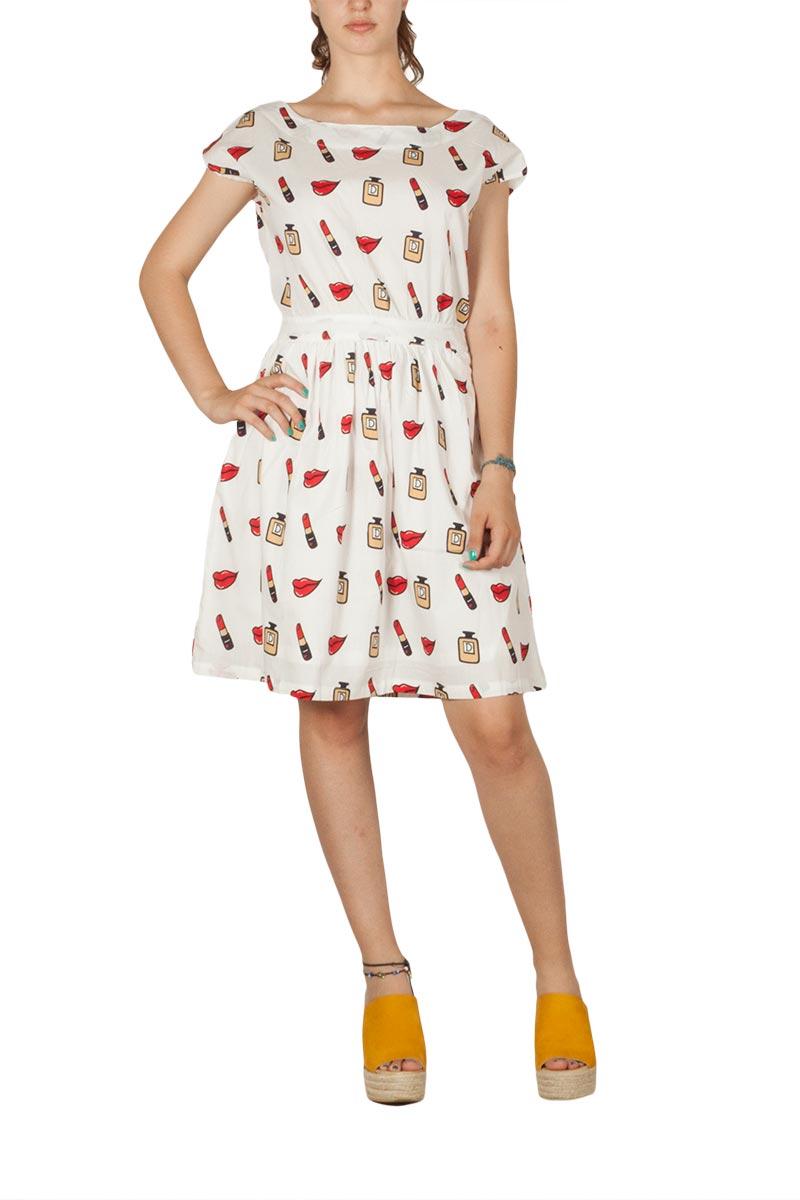 Migle + me Star dust φόρεμα με ανοιχτή πλάτη