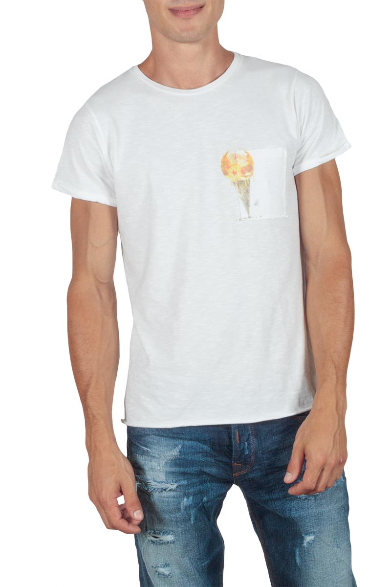 Anjavy t-shirt Ice cream - ajtu02-icecream