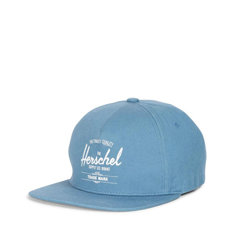 Herschel Supply Co. Whaler Cap stone blue