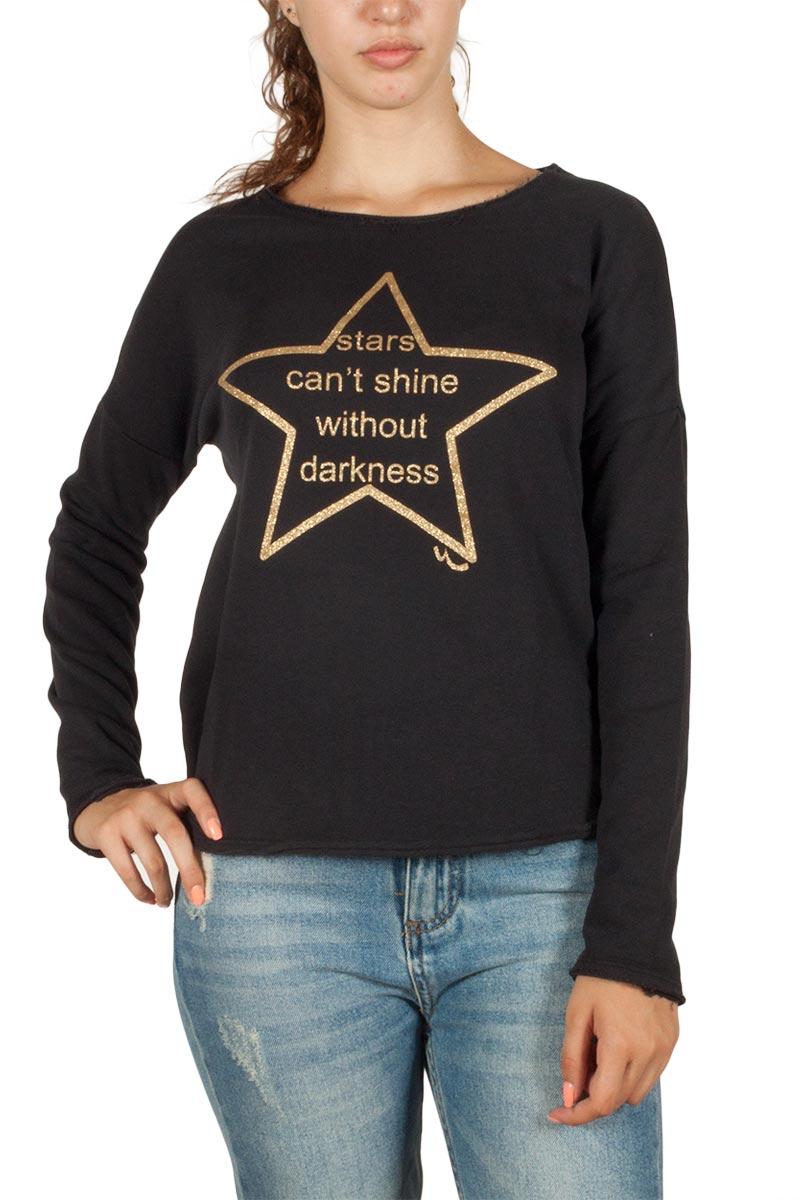 LTB Ticibe φούτερ μπλούζα μαύρη - 81081-6118